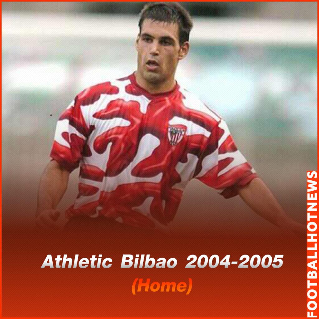ชุดแข่ง Athletic Bilbao 2004-2005 (Home)