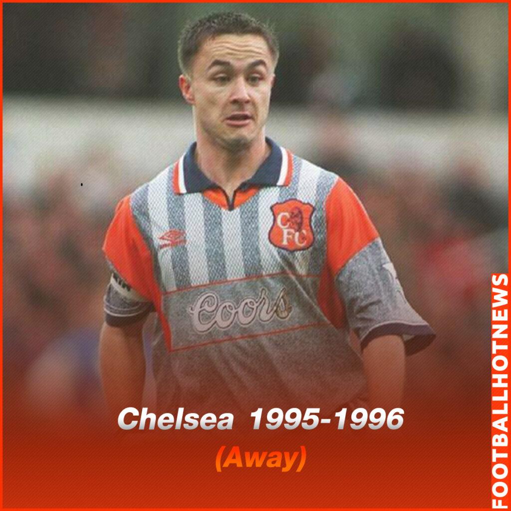 ชุดแข่ง Chelsea 1995-1996 (Away)
