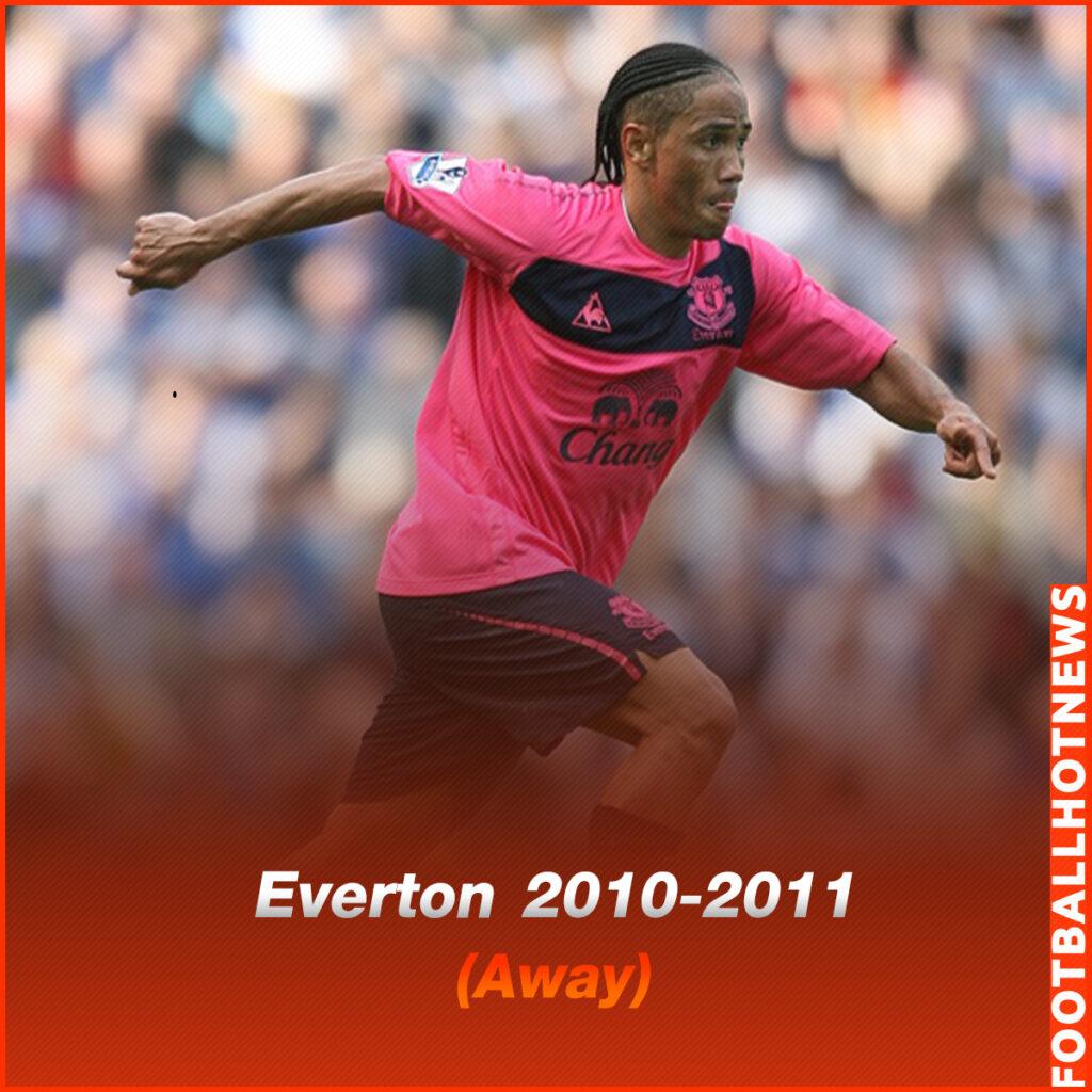 ชุดแข่ง Everton 2010-2011 (Away)