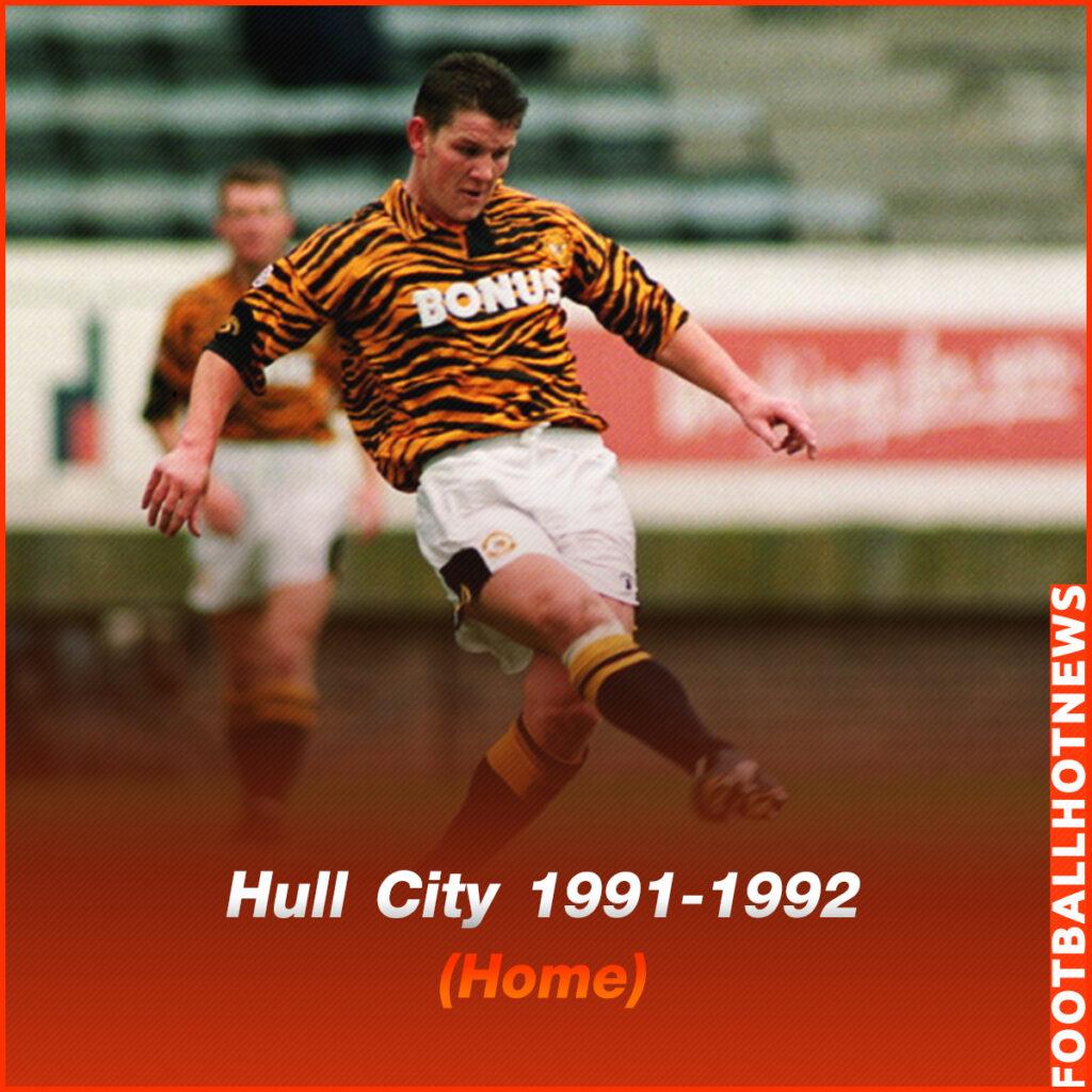 ชุดแข่ง Hull City 1991-1992 (Home)
