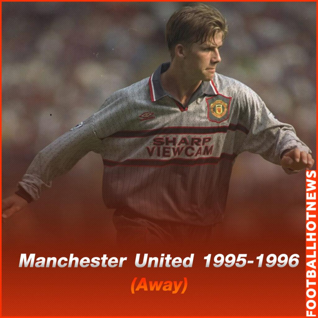 ชุดแข่ง Manchester United 1995-1996 (Away)